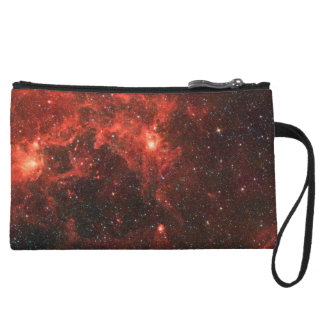 Dragonfish Nebula Bagettes Bag Wristlet Purse