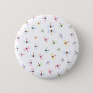 Dragonflies 6 Cm Round Badge