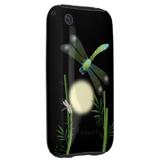 Dragonflies and Bamboo iPhone 3 Tough Cases