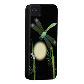 Dragonflies and Bamboo iPhone 4 Covers