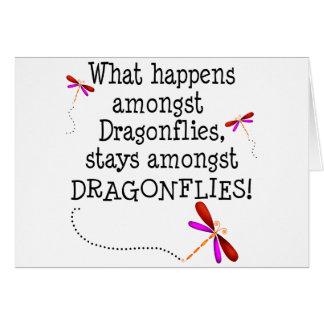 Dragonflies Card