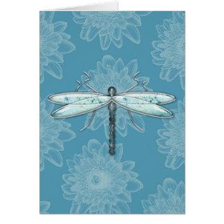 Dragonflies, Damselflies & Flowers Greeting Cards