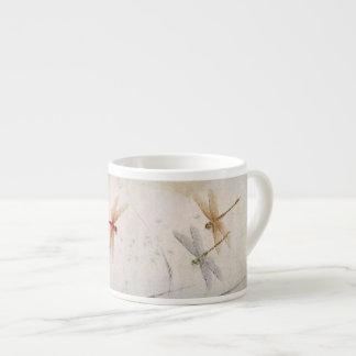 Dragonflies Espresso Cup