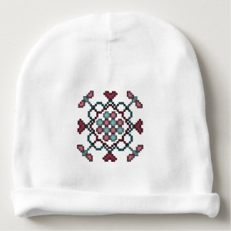 Dragonflies, Hearts and Circles Baby Beanie