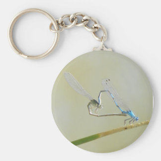 dragonflies in love basic round button key ring