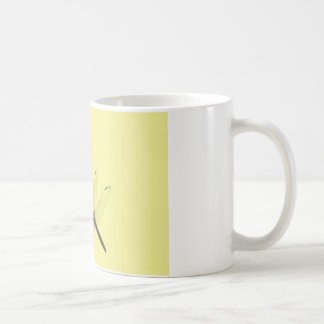 Dragonflies in the Grass Basic White Mug