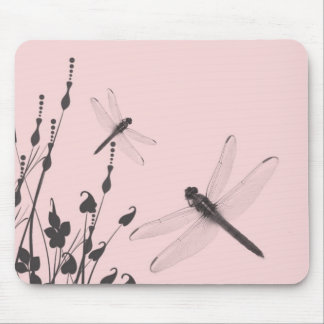 Dragonflies in the Grass Mouse Mat