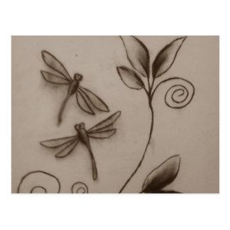 Dragonflies.jpg Postcard