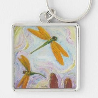 Dragonflies Key Chain by Paris Wyatt Llanso