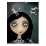 Dragonflies Postcard
