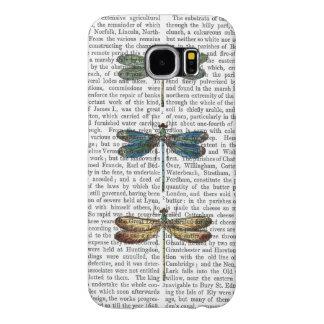 Dragonflies Print 2 Samsung Galaxy S6 Cases