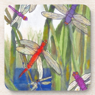 Dragonflies Summer Coaster