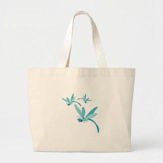 Dragonflies Canvas Bags
