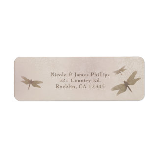 Dragonflies Vintage Dragonfly Elegant Invitation