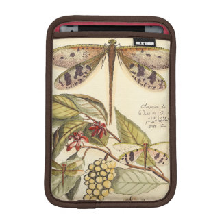 Dragonflies with Leaves and Fruit iPad Mini Sleeve