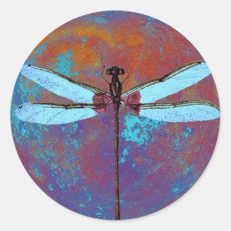 Dragonflight Round Sticker