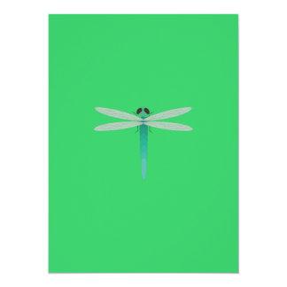 Dragonfly 14 Cm X 19 Cm Invitation Card