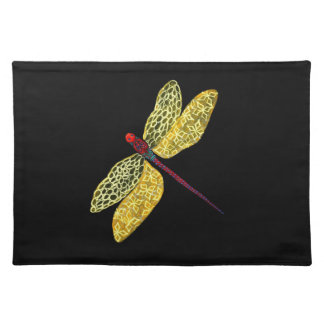Dragonfly American MoJo Placemat
