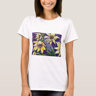 dragonfly and black eyed susans T-Shirt
