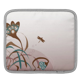 Dragonfly and Plants iPad Sleeves