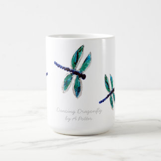 Dragonfly Art Coffee Mug