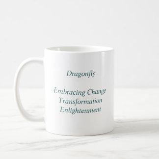 Dragonfly Basic White Mug