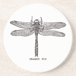 Dragonfly Beverage Coasters