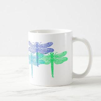 Dragonfly Blues Mug