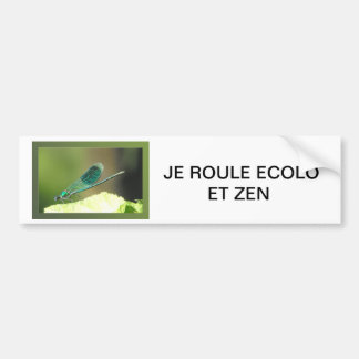 DRAGONFLY BUMPER STICKER