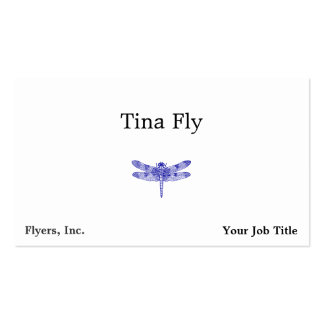 Dragonfly Business Card Template