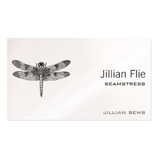 Dragonfly Double-Sided Standard Business Cards (Pack Of 100)
