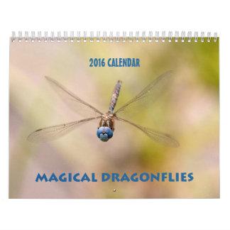Dragonfly Calendar 2016