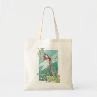 Dragonfly card 6 tote bag