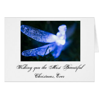 Dragonfly Christmas... Card