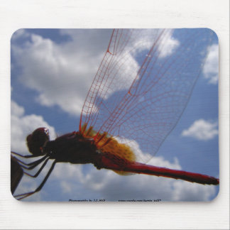 Dragonfly & Clouds Mouse Pad