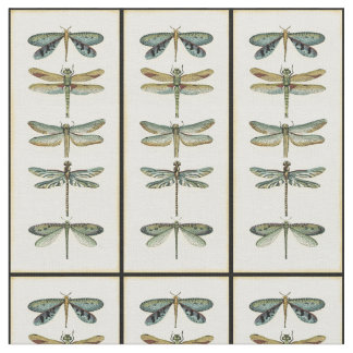 Dragonfly Collection by Chariklia Zarris Fabric