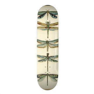 Dragonfly Collection by Chariklia Zarris Skate Board Deck