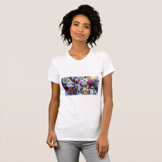 Dragonfly colorful art T-Shirt