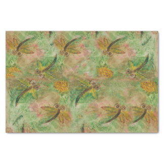 "Dragonfly Cotton Candy 10"" X 15"" Tissue Paper"