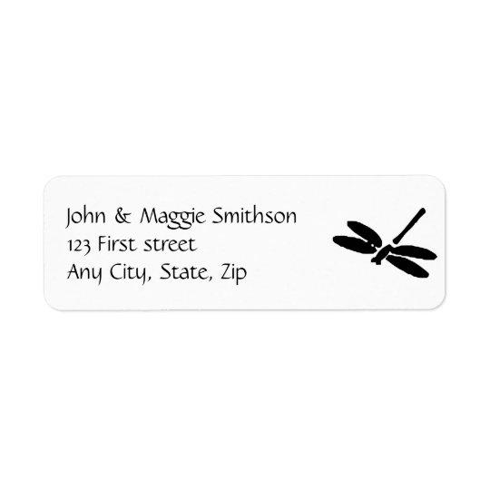 Dragonfly Custom Label