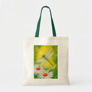 Dragonfly Daises Bag