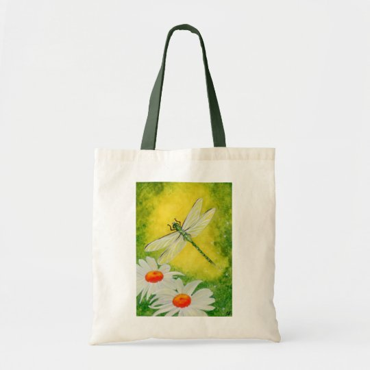 Dragonfly Daises Bag
