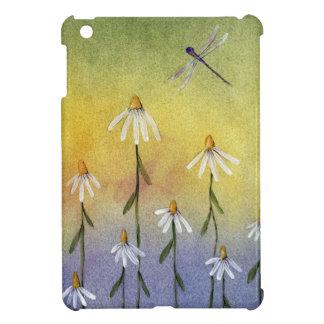 Dragonfly & Daisies - iPad Mini Case