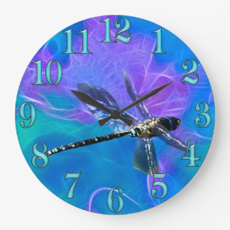 Dragonfly Damsel Fly Insect-lovers Gift Series Large Clock