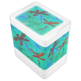 Dragonfly Dance Igloo Cooler