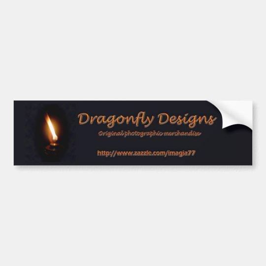 Dragonfly Designs Bumper Sticker