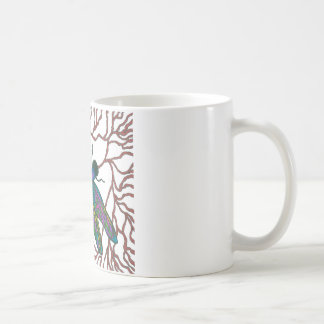 Dragonfly Doodle Coffee Mug