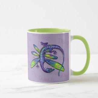 Dragonfly Dragon Mug