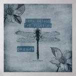 Dragonfly Dream Illusion Print