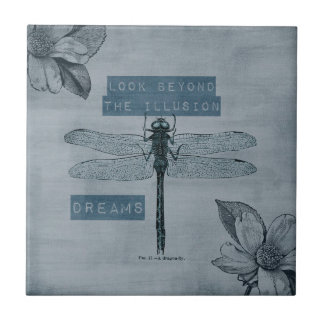 Dragonfly Dream Illusion Tile